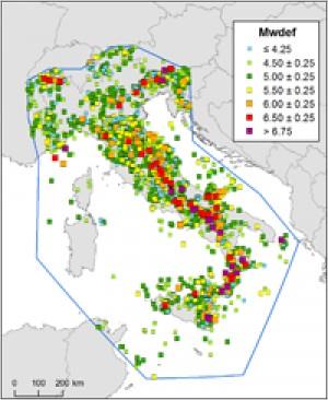 Catalogo Parametrico dei Terremoti Italiani (CPTI11)