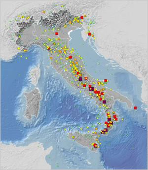 Catalogo Parametrico dei Terremoti Italiani (CPTI15), versione 1.5