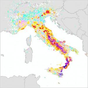 Database Macrosismico Italiano (DBMI04)