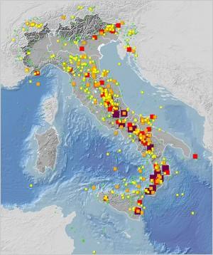 Catalogo Parametrico dei Terremoti Italiani (CPTI15), versione 2.0