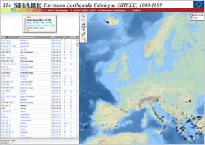 SHARE European Earthquake Catalogue (SHEEC) 1000-1899