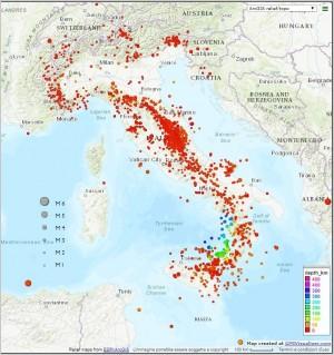 Bollettino Sismico Italiano (BSI), II quadrimestre 2019
