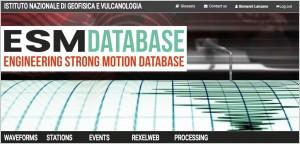 Engineering Strong Motion Database (ESM), version 2.0