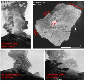 Historical catalog of Major explosions and paroxysms at Stromboli (Italy)
