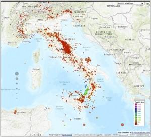 Bollettino Sismico Italiano (BSI), II quadrimestre 2020